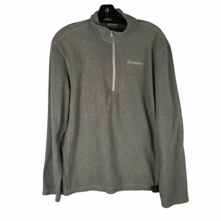 Primary Photo - BRAND: COLUMBIA STYLE: FLEECE COLOR: GREY SIZE: M SKU: 160-16071-65441
