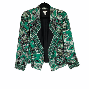Primary Photo - BRAND: CHICOS O STYLE: BLAZER JACKET COLOR: GREEN SIZE: S SKU: 160-16071-73738