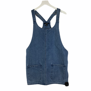 Primary Photo - BRAND: FOREVER 21 STYLE: DRESS SHORT SLEEVELESS COLOR: DENIM SIZE: L SKU: 160-160219-2542