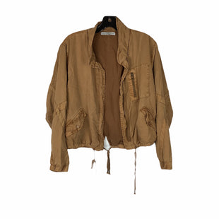 Primary Photo - BRAND:    CLOTHES MENTOR STYLE: JACKET OUTDOOR COLOR: CARAMEL SIZE: S OTHER INFO: YOUNG FABULOUS & BROKE - SKU: 160-160180-22962