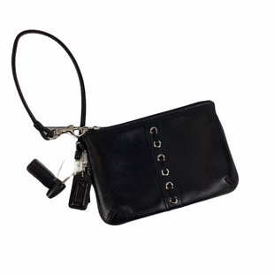 Primary Photo - BRAND: COACH STYLE: WRISTLET COLOR: BLACK SKU: 160-160237-308