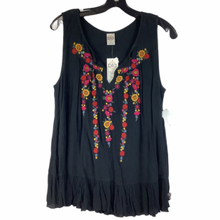 Primary Photo - BRAND: BILL BLASS STYLE: TOP SLEEVELESS COLOR: BLACK SIZE: L SKU: 160-160218-5203