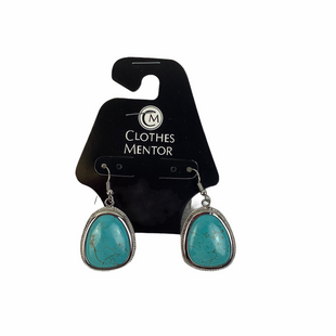 Primary Photo - BRAND:    CLOTHES MENTOR STYLE: EARRINGS COLOR: TURQUOISE OTHER INFO: NAMEBRAND - SKU: 160-16071-78033