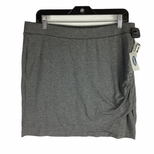 Primary Photo - BRAND: OLD NAVY STYLE: SKIRT COLOR: GREY SIZE: L SKU: 160-160197-18918