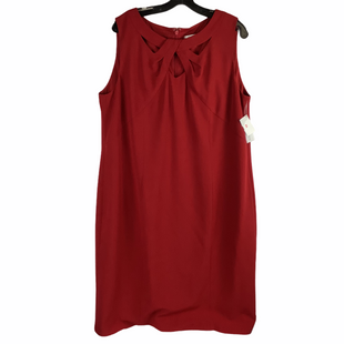 Primary Photo - BRAND: JONES STUDIO STYLE: DRESS SHORT SLEEVELESS COLOR: RED SIZE: XL (16W)SKU: 160-16071-77805