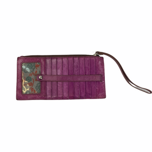 Primary Photo - BRAND: HOBO INTL STYLE: WRISTLET COLOR: PURPLE OTHER INFO: AS IS SKU: 160-160219-483