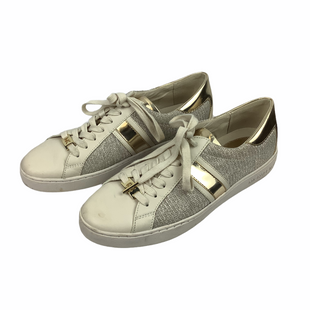 Primary Photo - BRAND: MICHAEL KORS STYLE: SHOES DESIGNER COLOR: CREAM SIZE: 9 OTHER INFO: AS IS(SPOTTING/WEAR) SKU: 160-160197-12142