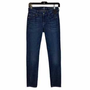Primary Photo - BRAND: 7 FOR ALL MANKIND STYLE: JEANS COLOR: DENIM SIZE: 0 (24)OTHER INFO: AS IS SKU: 160-160228-4311