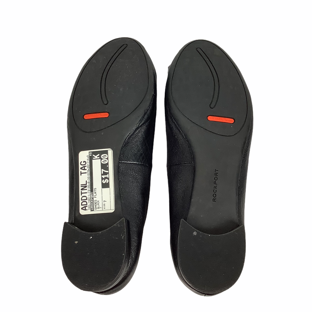 Photo #3 - BRAND: ROCKPORT <BR>STYLE: SHOES FLATS <BR>COLOR: BLACK <BR>SIZE: 7 <BR>SKU: 160-16071-73135
