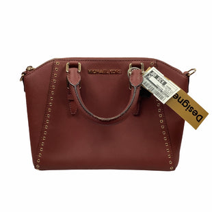 Primary Photo - BRAND: MICHAEL KORS STYLE: HANDBAG DESIGNER COLOR: BURGUNDY SIZE: MEDIUM OTHER INFO: AS IS FOR WEAR SKU: 160-160208-491