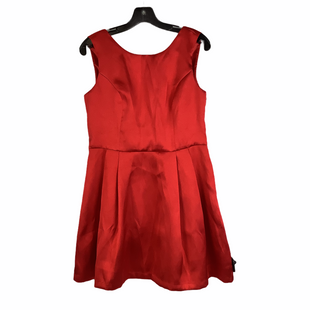 Primary Photo - BRAND:    CLOTHES MENTOR STYLE: DRESS SHORT SLEEVELESS COLOR: RED SIZE: M OTHER INFO: JUST ME - SKU: 160-160197-18834