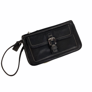 Primary Photo - BRAND: COACH STYLE: WRISTLET COLOR: BLACK SKU: 160-160237-307