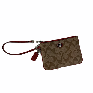 Primary Photo - BRAND: COACH STYLE: WRISTLET COLOR: RED SKU: 160-160219-1013
