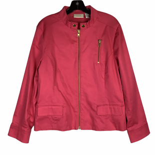 Primary Photo - BRAND: CHICOS STYLE: JACKET OUTDOOR COLOR: PINK SIZE: M SKU: 160-160216-1220