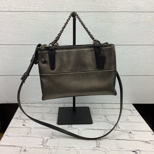 Primary Photo - BRAND: COACH STYLE: HANDBAG DESIGNER COLOR: BRONZE SIZE: SMALL AS IS - LIGHT WEAR ON HANDLES AS SHOWNSKU: 160-160216-1417