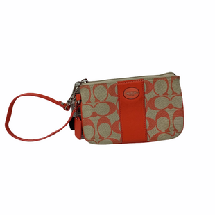Primary Photo - BRAND: COACH STYLE: WRISTLET COLOR: ORANGE AS IS SKU: 160-160197-15646