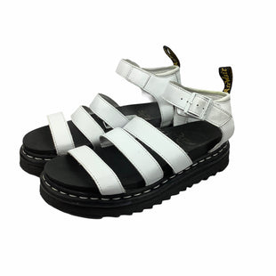 Primary Photo - BRAND: DR MARTENS STYLE: SANDALS FLAT COLOR: WHITE SIZE: 9 OTHER INFO: AS IS SKU: 160-16071-72122