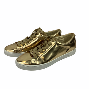 Primary Photo - BRAND: MICHAEL BY MICHAEL KORS STYLE: SHOES DESIGNER COLOR: GOLD SIZE: 9 SKU: 160-16071-72294