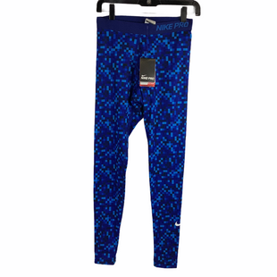 Primary Photo - BRAND: NIKE APPAREL STYLE: ATHLETIC PANTS COLOR: BLUE SIZE: S SKU: 160-160197-13006