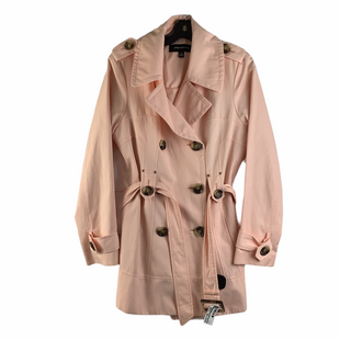 Primary Photo - BRAND: JONES NEW YORK STYLE: JACKET OUTDOOR COLOR: PINK SIZE: M SKU: 160-160197-12213