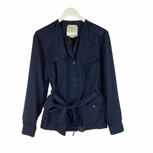 Primary Photo - BRAND: ANTHROPOLOGIE STYLE: JACKET OUTDOOR COLOR: NAVY SIZE: M OTHER INFO: AS IS SKU: 160-16071-75465