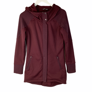 Primary Photo - BRAND: NORTHFACE STYLE: JACKET OUTDOOR COLOR: MAROON SIZE: S SKU: 160-160206-869AS IS