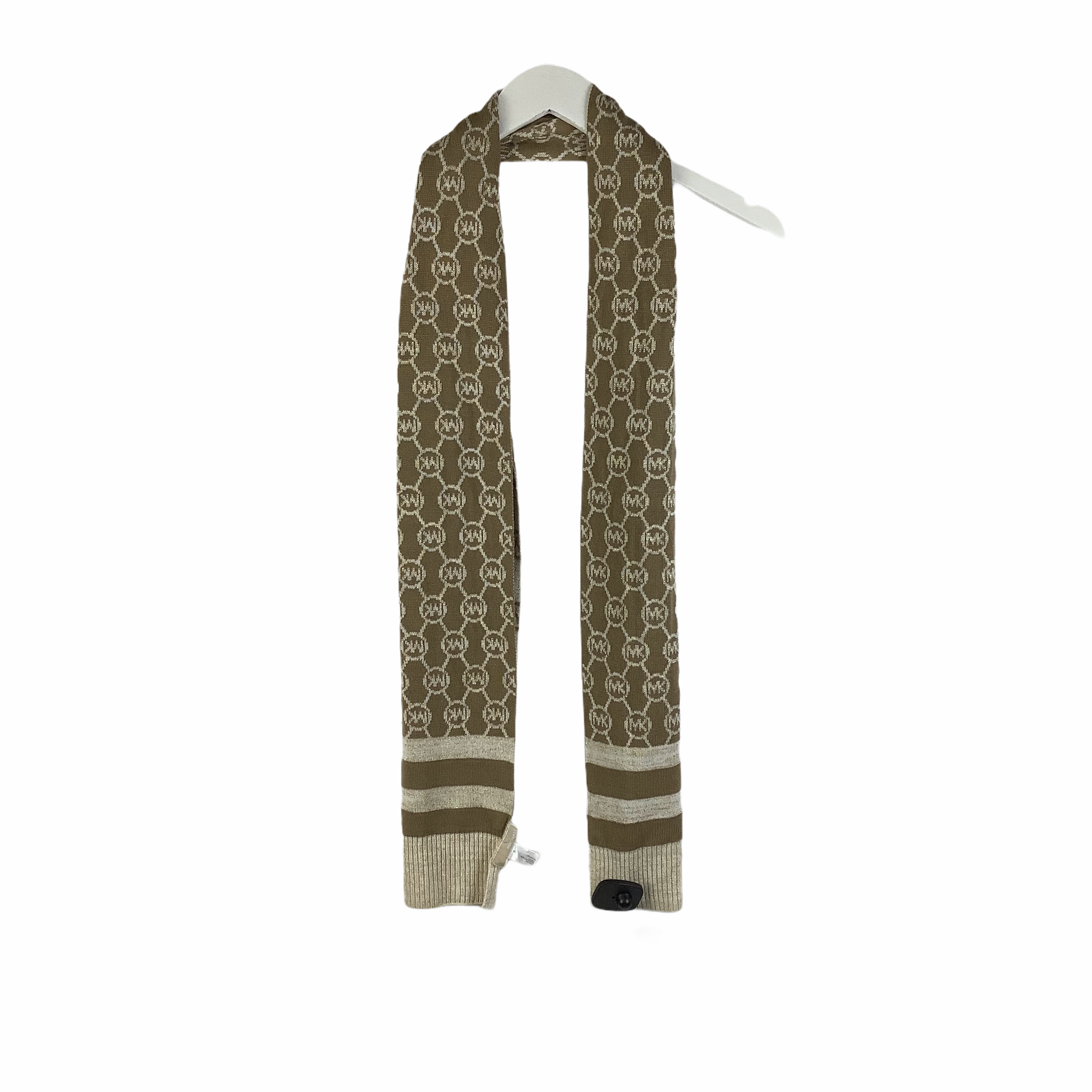 Primary Photo - BRAND: MICHAEL BY MICHAEL KORS <BR>STYLE: SCARF WINTER <BR>COLOR: TAN <BR>SKU: 160-160197-14926