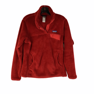 Primary Photo - BRAND: PATAGONIA STYLE: FLEECE COLOR: RED SIZE: M SKU: 160-160219-1339