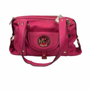 Primary Photo - BRAND: MICHAEL KORS STYLE: HANDBAG DESIGNER COLOR: HOT PINK SIZE: MEDIUM OTHER INFO: AS IS/SMALLL SPOTTING SKU: 160-16071-71738