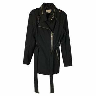 Primary Photo - BRAND: MICHAEL BY MICHAEL KORS STYLE: COAT LONG COLOR: BLACK SIZE: S SKU: 160-160208-382