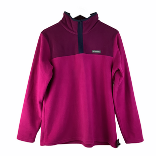 Primary Photo - BRAND: COLUMBIA STYLE: FLEECE COLOR: PINK SIZE: L SKU: 160-160218-1369