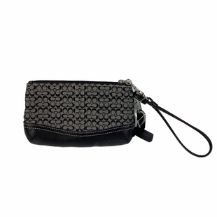 Primary Photo - BRAND: COACH STYLE: WRISTLET COLOR: GREY AS IS SKU: 160-160219-752