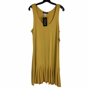 Primary Photo - BRAND:    CLOTHES MENTOR STYLE: DRESS SHORT SLEEVELESS COLOR: MUSTARD SIZE: XL OTHER INFO: FRENCH ATOMSPHERE - SKU: 160-160197-3620