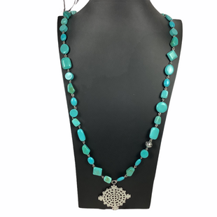Primary Photo - BRAND:    CLOTHES MENTOR STYLE: NECKLACE COLOR: TEAL SKU: 160-160218-1667