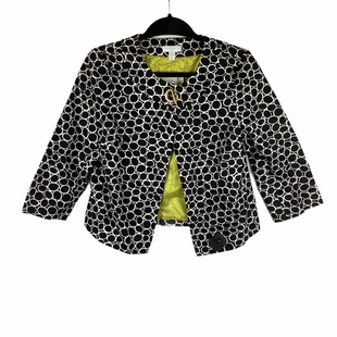 Primary Photo - BRAND: CHARTER CLUB STYLE: BLAZER JACKET COLOR: WHITE BLACK SIZE: PETITE   SMALL SKU: 160-160216-1029