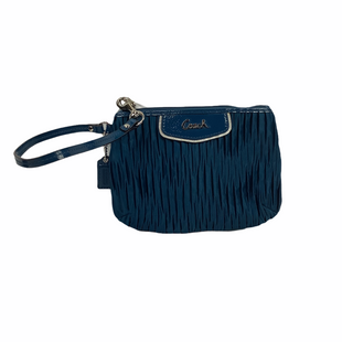 Primary Photo - BRAND: COACH STYLE: WRISTLET COLOR: BLUE SKU: 160-160197-12943