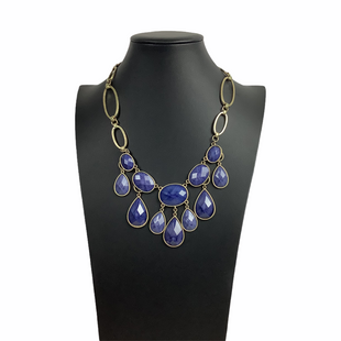 Primary Photo - BRAND:    CLOTHES MENTOR STYLE: NECKLACE COLOR: BLUE OTHER INFO: NAMEBRAND - SKU: 160-160219-637