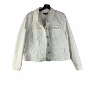 Primary Photo - BRAND: JW STYLE: JACKET OUTDOOR COLOR: WHITE SIZE: L SKU: 160-160216-1608