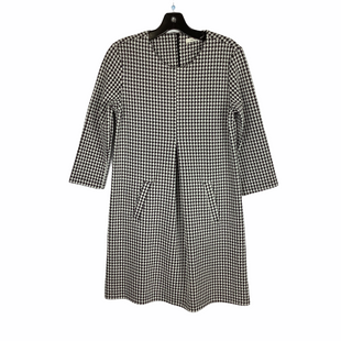 Primary Photo - BRAND:    CLOTHES MENTOR STYLE: DRESS SHORT LONG SLEEVE COLOR: HOUNDSTOOTH SIZE: S SKU: 160-160197-8140