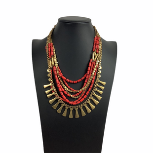 Primary Photo - BRAND: STELLA AND DOT STYLE: NECKLACE COLOR: RED SKU: 160-160216-2085