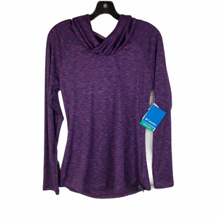Primary Photo - BRAND: COLUMBIA STYLE: ATHLETIC TOP COLOR: PURPLE SIZE: M SKU: 160-16071-78455