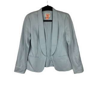 Primary Photo - BRAND: ANN TAYLOR LOFT O STYLE: BLAZER JACKET COLOR: BABY BLUE SIZE: S SKU: 160-160197-12754