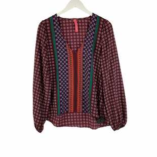 Primary Photo - BRAND: EIGHT SIXTY STYLE: TOP LONG SLEEVE COLOR: BURGUNDY SIZE: S SKU: 160-16071-78401