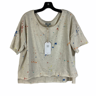 Primary Photo - BRAND: TRUE CRAFT STYLE: TOP SHORT SLEEVE COLOR: CREAM SIZE: M SKU: 160-160219-4213