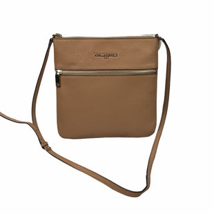 Primary Photo - BRAND: KARL LAGERFELD STYLE: HANDBAG DESIGNER COLOR: TAN SIZE: SMALL SKU: 160-160183-386