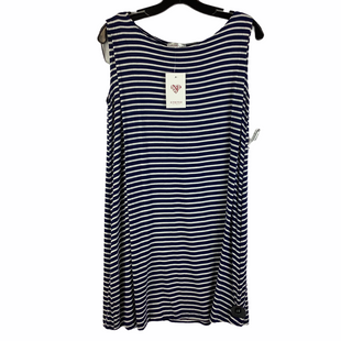 Primary Photo - BRAND: NYMPHE STYLE: TOP SLEEVELESS COLOR: BLUE WHITE SIZE: S SKU: 160-160124-15470