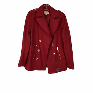 Primary Photo - BRAND: MICHAEL BY MICHAEL KORS STYLE: COAT SHORT COLOR: RED SIZE: 4 SKU: 160-160186-6643