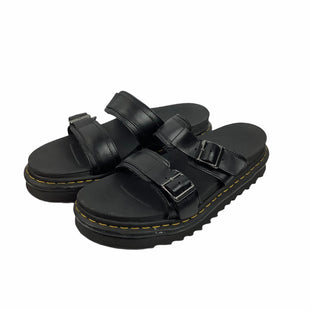 Primary Photo - BRAND: DR MARTENS STYLE: SANDALS FLAT COLOR: BLACK SIZE: 9 OTHER INFO: AS IS SKU: 160-16071-72120