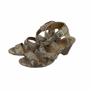 Primary Photo - BRAND: CLARKS STYLE: SANDALS LOW COLOR: SNAKESKIN PRINT SIZE: 10 SKU: 160-160180-18221