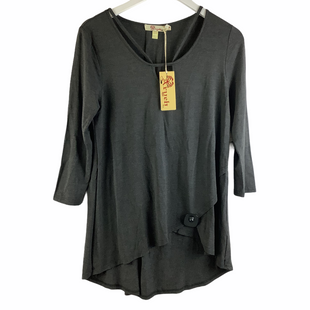 Primary Photo - BRAND:    CLOTHES MENTOR STYLE: TOP LONG SLEEVE COLOR: CHARCOAL SIZE: M OTHER INFO: AXYEH - SKU: 160-160197-18467
